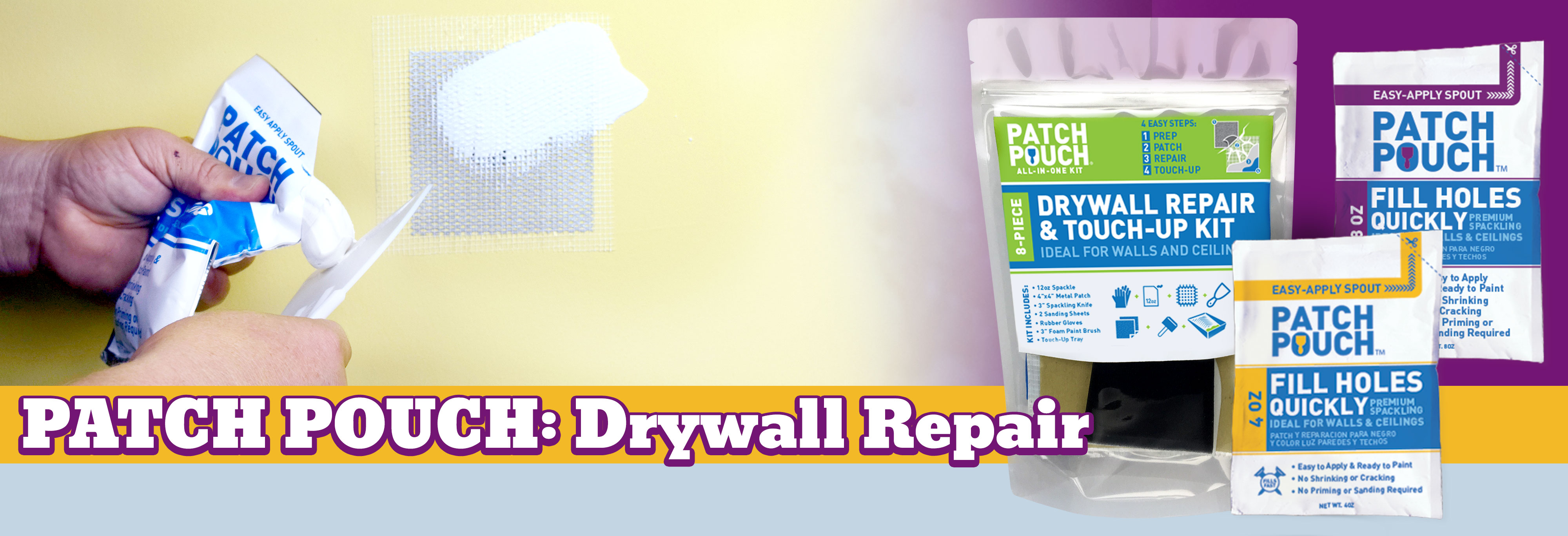 PureSky Products Patch Pouch Drywall Repair