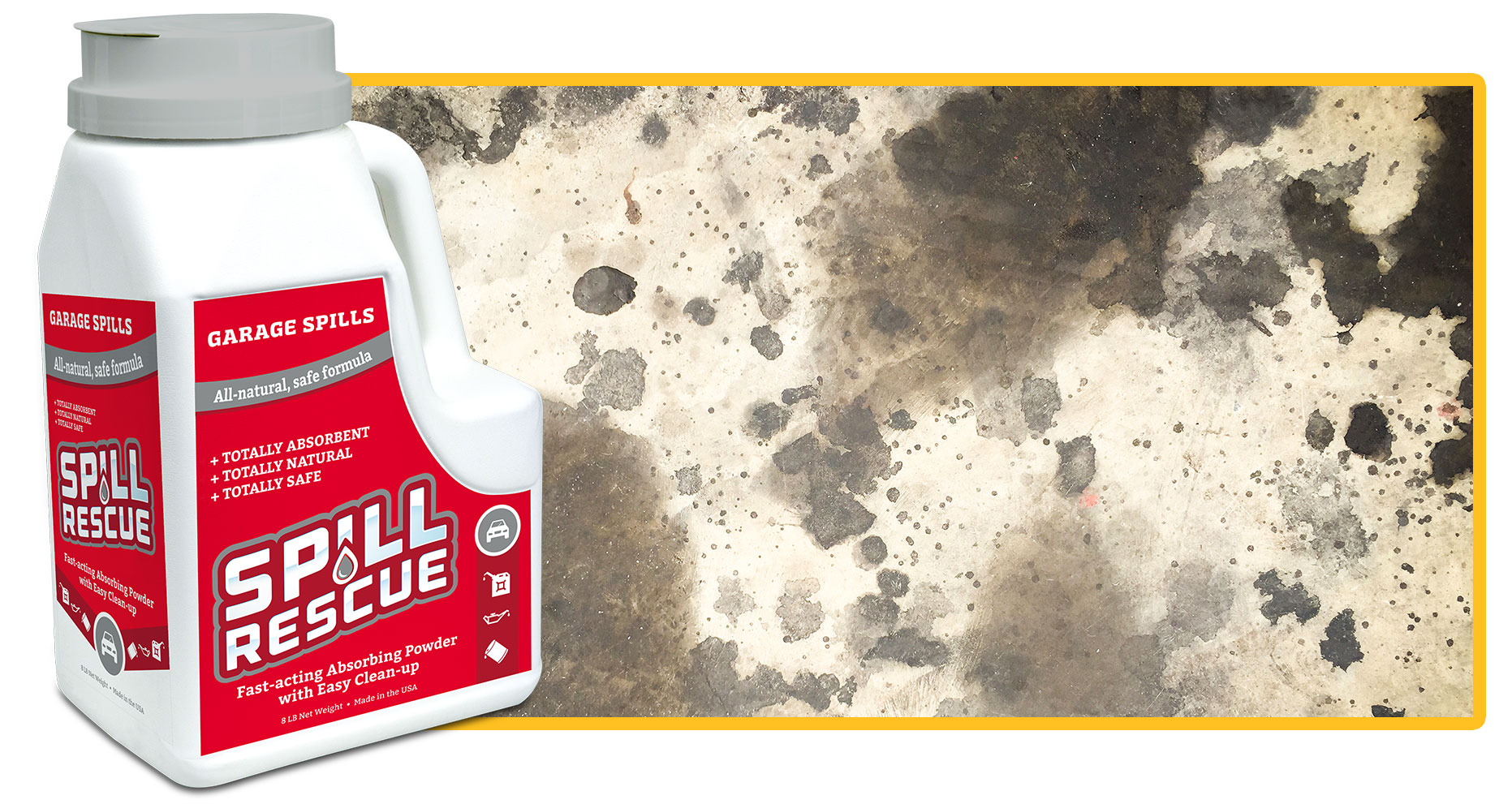 PureSky Products Spill Rescue for Garage Spills